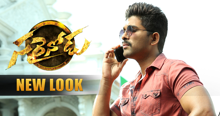 allu arjun s new look from sarrainodu movie filmy focus