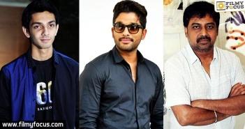 Allu Arjun, Lingusamy, Anirudh
