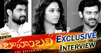 Bahubali Interview