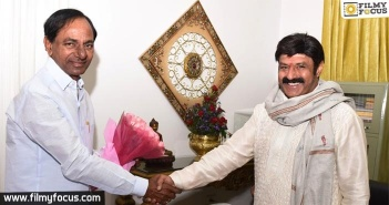 Balakrishna and KCR