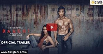 Baagi Trailer,Shraddha Kapoor,Tiger Shroff