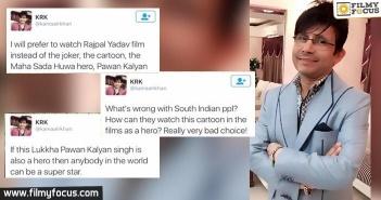 Kamaal R Khan about pawan kalyan
