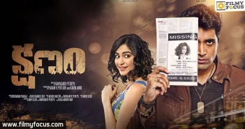 Kshanam Movie