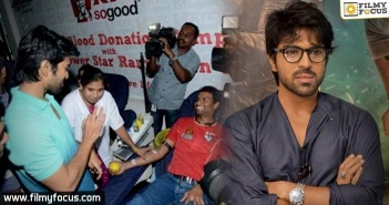 Mega Blood Donation Camp on Ram Charan birthday