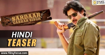 Sardaar Gabbar Singh Hindi Teaser