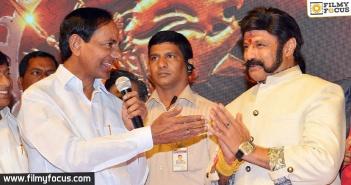 KCR, Balakrishna, Balakrishna's 100th Film, Gautamiputra Satakarni, Gautamiputra Satakarni Movie, Balayya Babu, Krish, Director Krish,