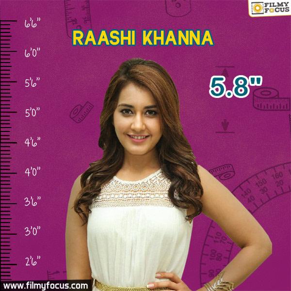 Raashi Khanna, Raashi Khanna Movies