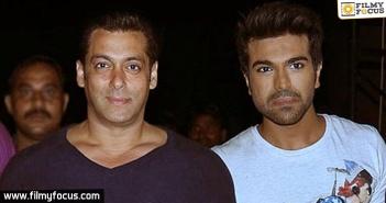 Salman Khan, Ram Charan,Chiranjeevi
