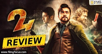 24 movie review, 24 movie Rating, Suriya, Samantha