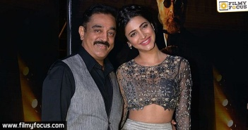 Kamal Hassan, Shruti Hassanm, Sabaash Naidu Movie,