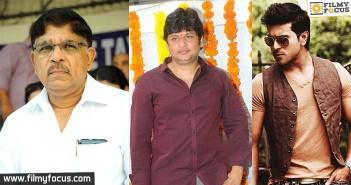 Ram Charan, Surender Reddy, Allu Arvind,