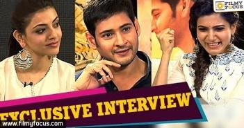 Samantha, Mahesh Babu, Kajal Aggarwal, Brahmotsavam Movie, Srikanth Addala, Mickey J Meyer, Pranitha,
