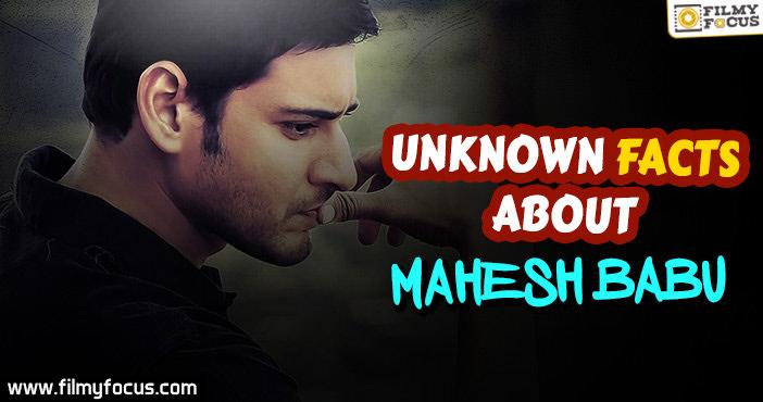 Mahesh Babu, Mahesh Babu Movies