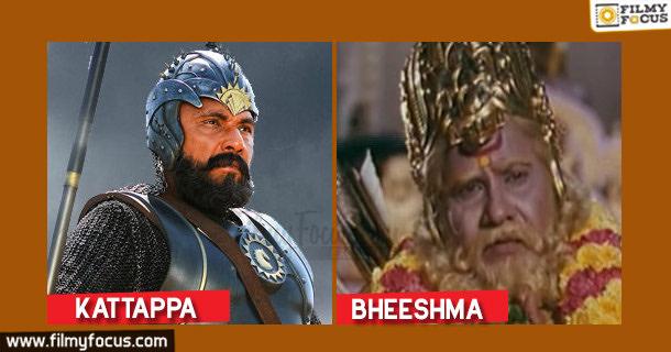 Kattappa, Satya Raj, Baahubali