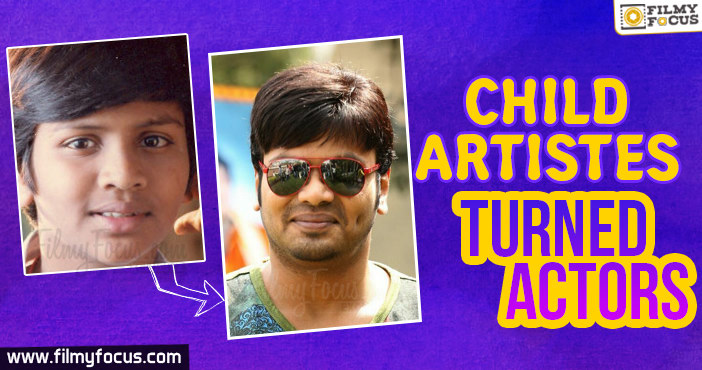 Child Artistes, Tollywood