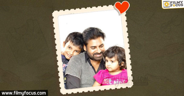 Pawan Kalyan with Family