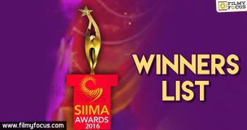 SIIMA 2016, SIIMA Awards 2016,