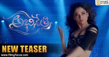 Abhinetri Movie, Tamanna, Prabhudeva, AmyJackson