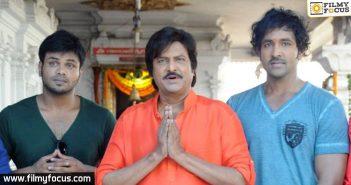 Mohan Babu, Manchu Manoj, Manchu Vishnu