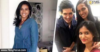 Shravya Varma, Manish Malhotra, PVsindhu