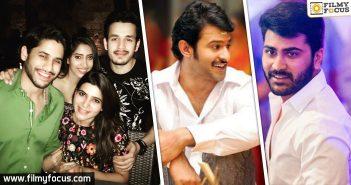Akhil Akkineni, naga chaitanya,nithin, Actor Sharwanand, prabhas