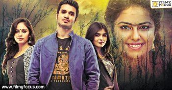 Ekkadaki Pothaavu Chinnadana Movie, Hero Nikhil, Actress Avika Gor, Actress Hebah Patel, vi anand,