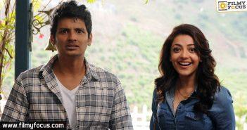 Actress Kajal Aggarwal, jiiva, enthavaraku ee prema movie,