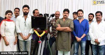 pawan kalyan,trivikram,nithin, Katamarayudu Movie, A Aa Movie