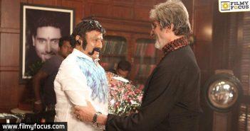 balakrishna, Amitabh Bachchan, Director Krishna Vamsi, Gautamiputra Satakarni Movie, raithu movie,