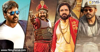 chiranjeevi, balakrishna,nagarjuna,venkatesh,guru movie, Om Namo Venkatesaya movie, GPSK movie, Khaidi No 150 Movie,