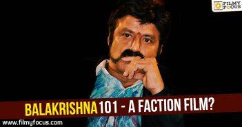 Balakrishna, balakrishna 101 film, Director Krishna Vamsi, Gautamiputra Satakarni Movie, ks ravikumar, raithu movie