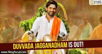 Allu Arjun, Director Harish Shankar, Duvvada Jagannadham First Look, Duvvada Jagannadham Movie, Pooja Hegde