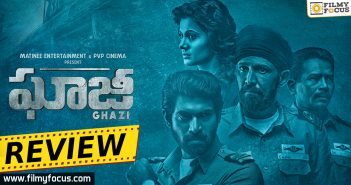 Ghazi Movie Rating, Ghazi Movie Review, Ghazi Movie Telugu Review, Ghazi Review, Ghazi Telugu Movie, Ghazi Telugu Movie Review, Kay Kay Menon, Kunal Kaushik, Rahul Singh, Rana Daggubati, Sankalp Reddy, Taapsee Pannu