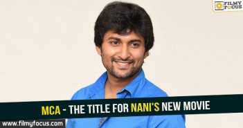 Nani, Nani Movies, MCA movie,dil raju, Nenu Local Movie, Actress Sai Pallavi,