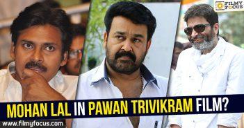 Pawan kalyan, Director Trivikram Srinivas, Mohanlal, Katamarayudu Movie, Janatha Garage,