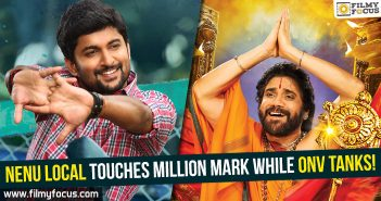 Nenu Local Movie, nani, Dil Raju, Om Namo Venkatesaya movie, King Nagarjuna, nenu local collections
