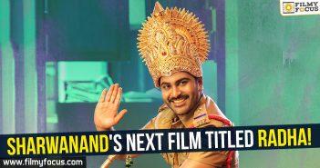BVSN Prasad, radha movie, sharwanand, Shatamanam Bhavati Movie