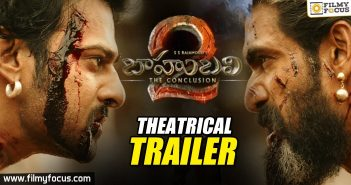 Baahubali 2 - The Conclusion Official Trailer, Prabhas, Anushka, Rana, SS Rajamouli, Baahubali 2 Trailer, Baahubali 2 Official Trailer