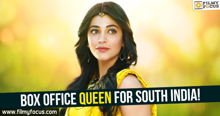 Actress Shruti Haasan, Katamarayudu Movie, Gabbar Singh Movie, sangamitra