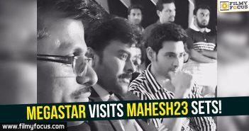 Chiranjeevi, Mahesh Babu, Mahesh23, Murugadoss