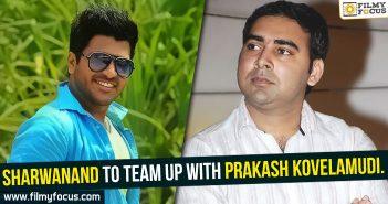 Sharwanand, Prakash Kovelamudi, size zero movie, Radha Movie,