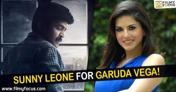 Actor Rajasekhar, Rajasekhar, Sunny leone, Garuda Vega Movie,