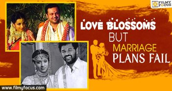Love Blossoms But Marriage Plans Fail