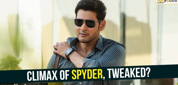 Climax of Spyder, tweaked?