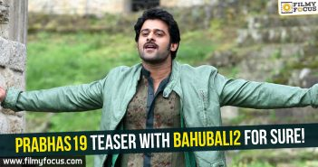 Baahubali, Baahubali – 2, Director Sujeeth, Prabhas, prabhas19, uv creations