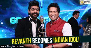 revanth, indian idol, Sachin Tendulkar,