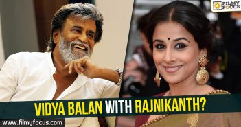 Actress Vidya Balan, Vidya Balan Movies, rajinikanth, Rajinikanth Movies, Kabali Movie, Pa Ranjith,