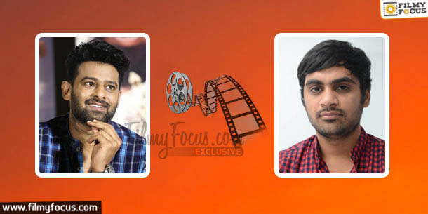 Prabhas - Sujith Sign