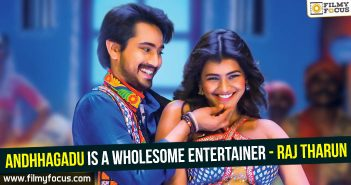 andhagadu movie, Raj Tharun, Actress Hebah Patel, Director Veligonda Srinivas,