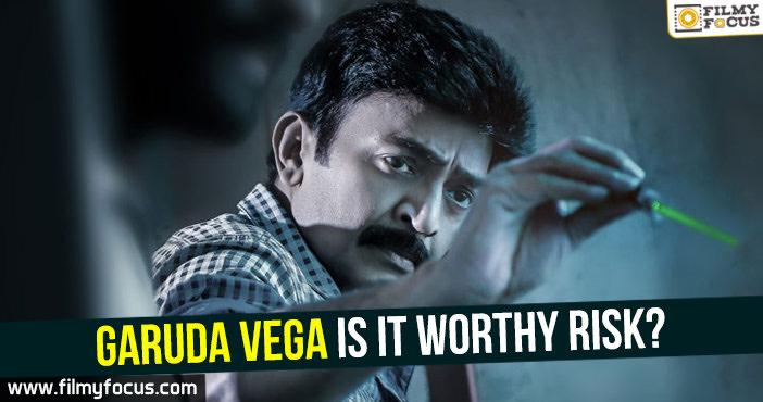 Garuda Vega, Garuda Vega Movie, Praveen Sattaru, Sunny Leone, Dr. Rajasekhar